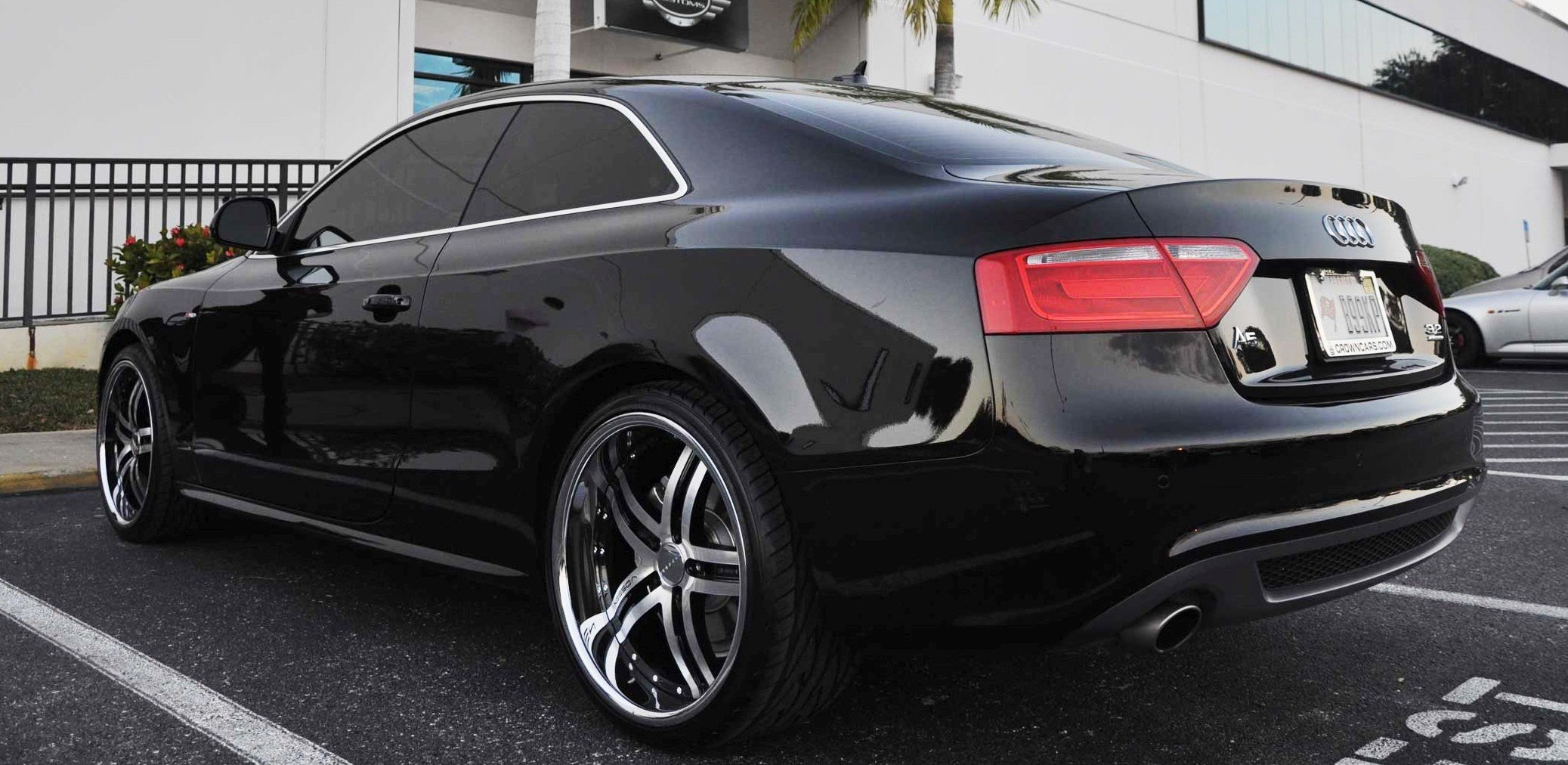 20 Vossen 078 Staggered Wheels And Pirelli Tires Audi A5 Forum Audi S5 Forum