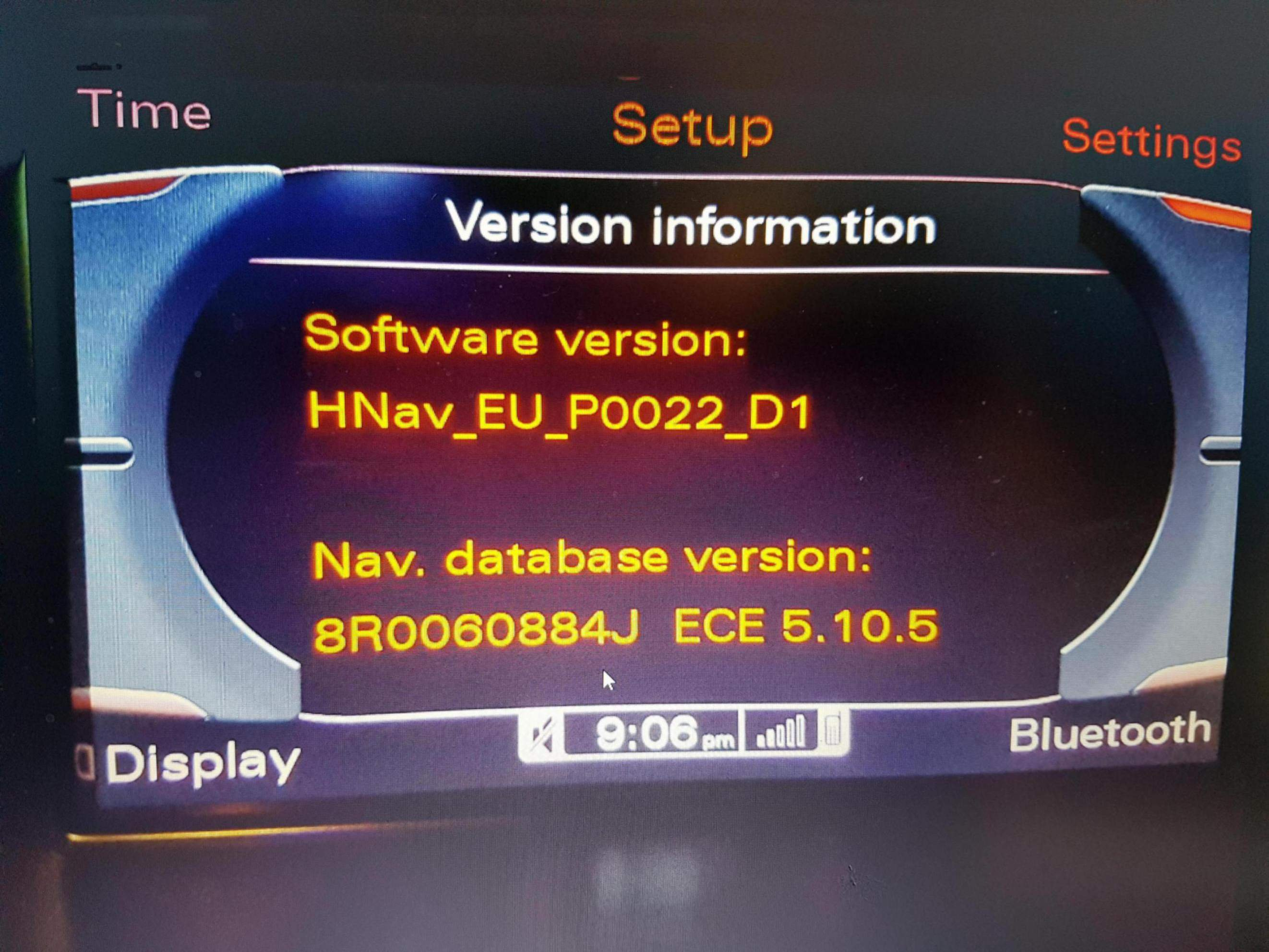 MMI 3G Basic navigation 5 24 2 and firmware updates - currently 2017