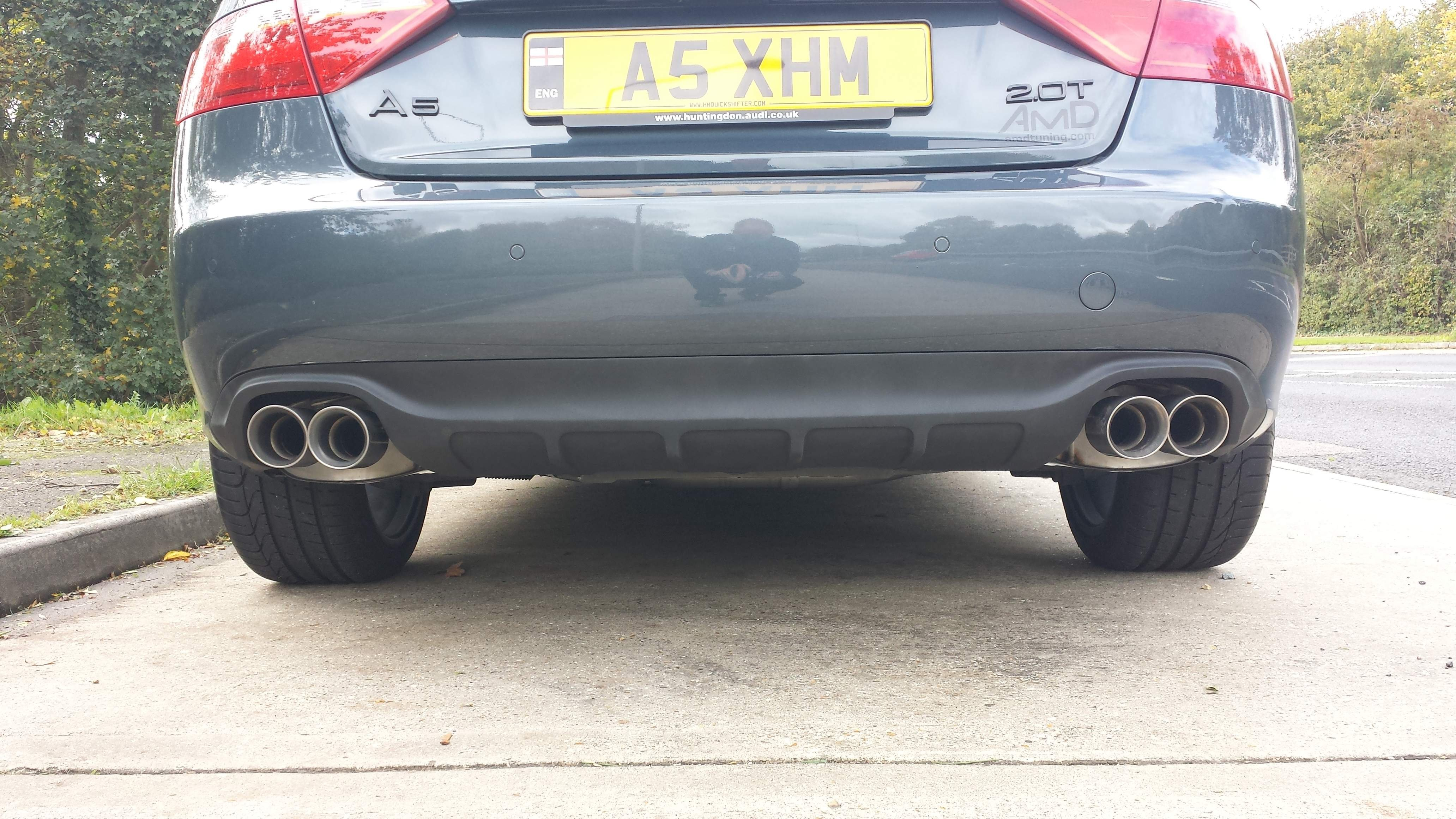 2 0t To Quad Exhaust What Do I Need Parts List Audi A5 Forum Audi S5 Forum