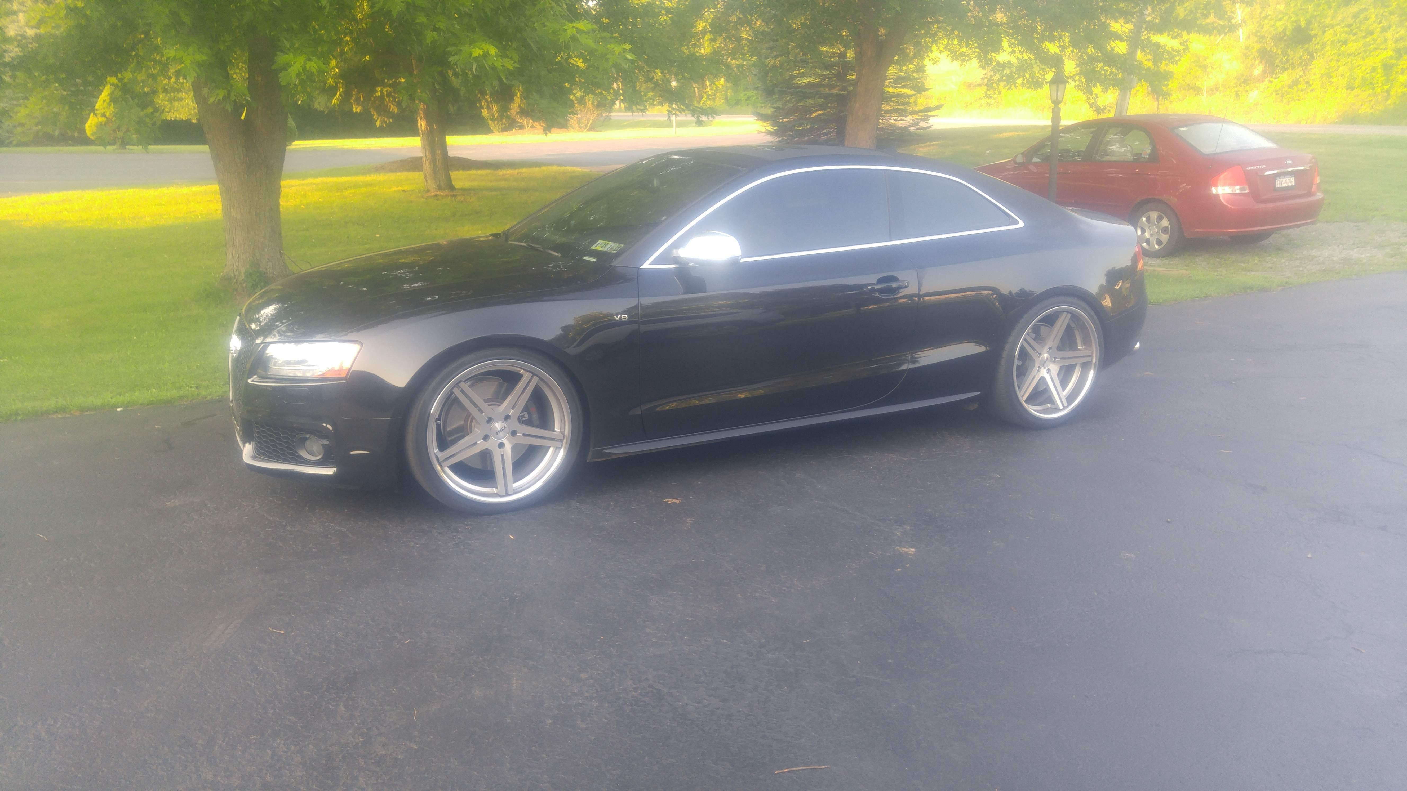 Staggered Wheels Or Not Audi A5 Forum Audi S5 Forum