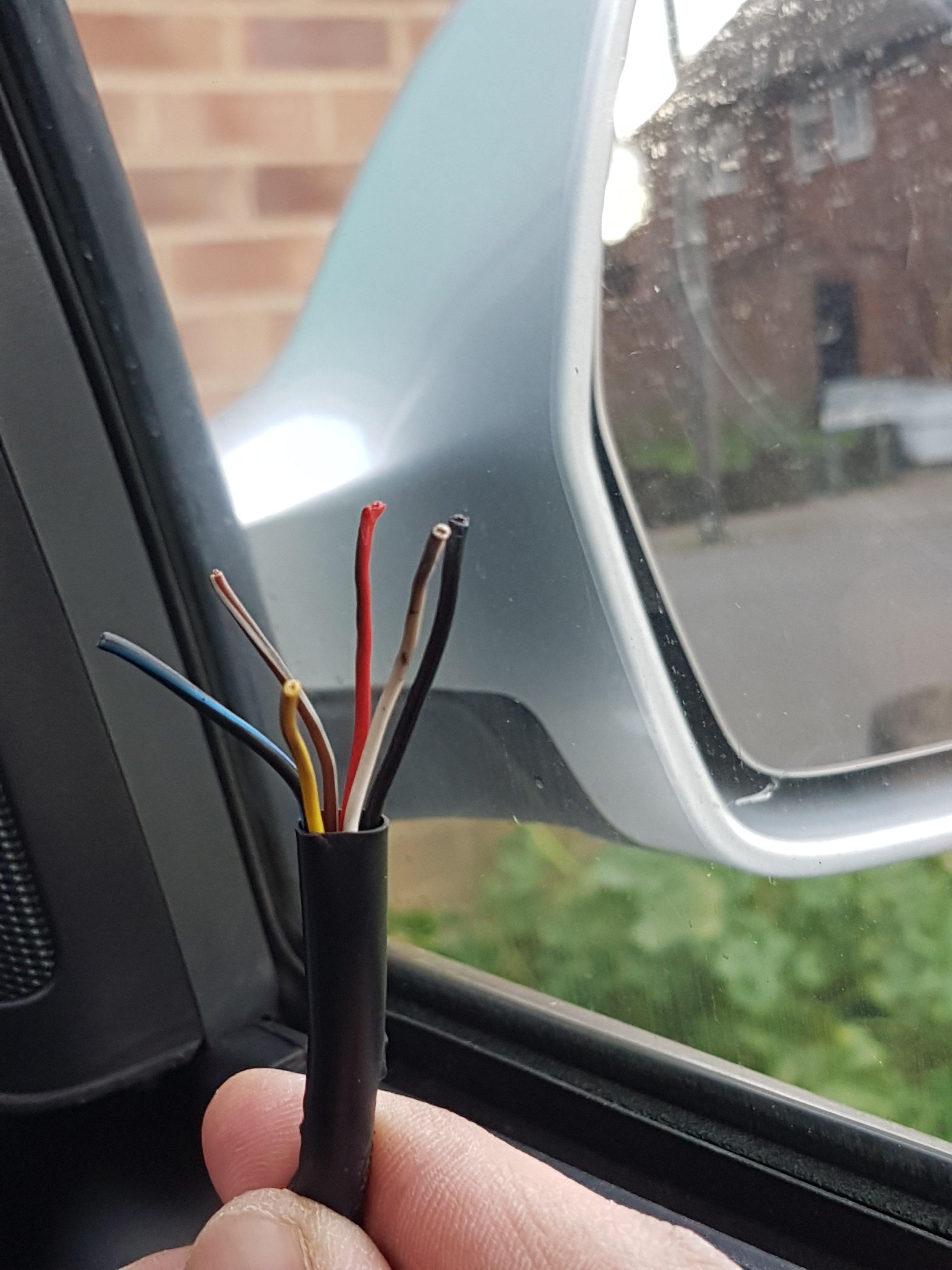 Drivers door mirror wiring (diagram) Help!!   Audi A5 Forum & Audi S5 Forum   Audi Mirror Wiring Diagram      A5oc