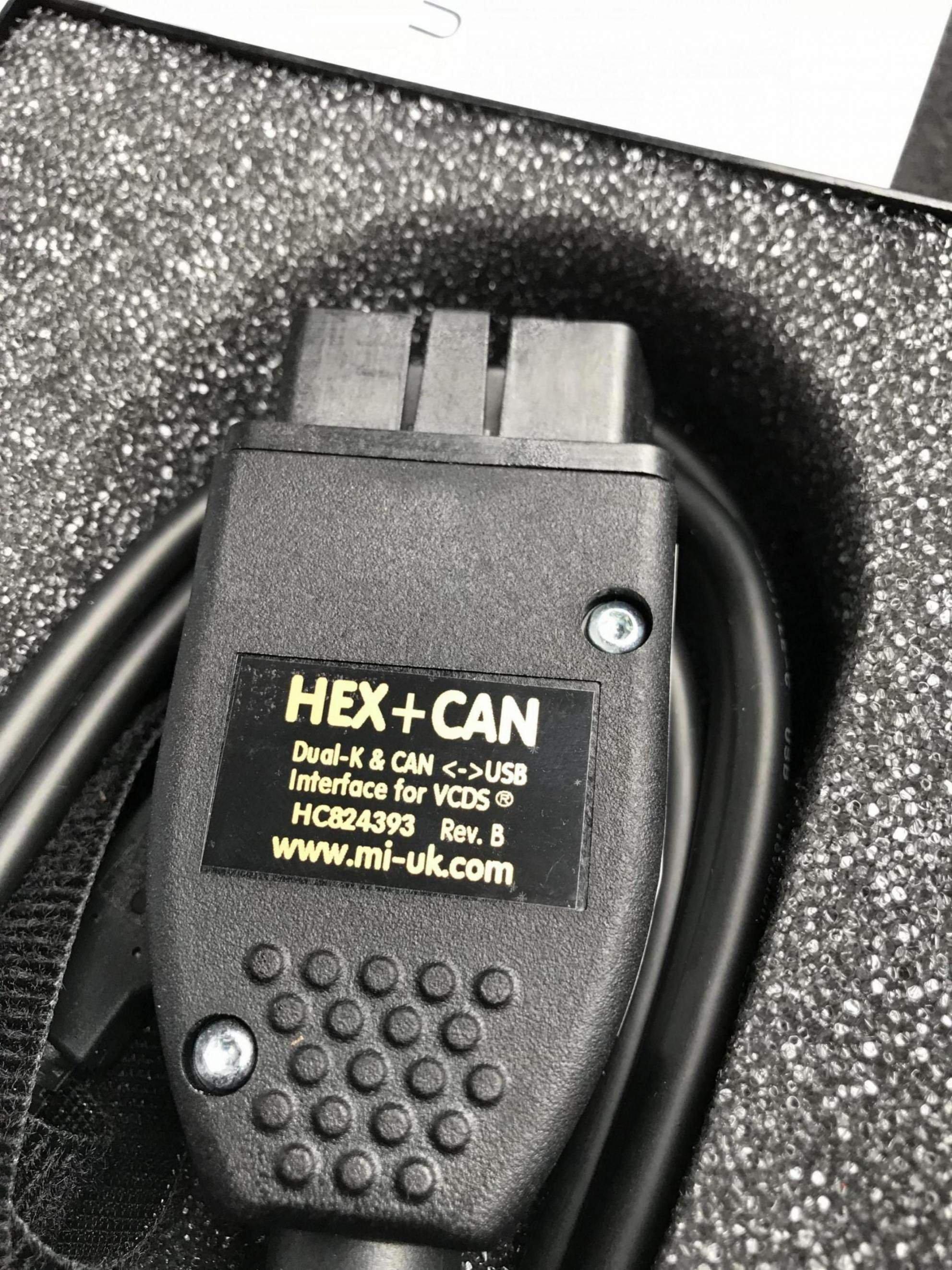 FS: Genuine Ross-Tech VAG-COM HEX+CAN USB | Audi A5 Forum & Audi S5