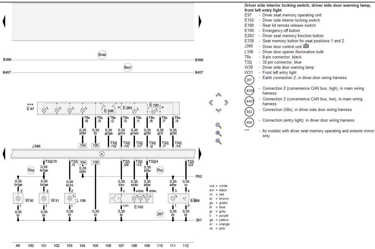 Audi A5 Wiring Diagram Unlimited Access To A3 Diagrams Pdf Retro Fit Interior Lighting Pack Forum S5 A4 1996