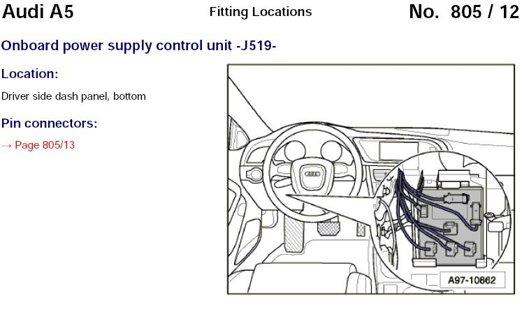B8 Audi A4 Fuse Box Diagram. Audi. Auto Wiring Diagram