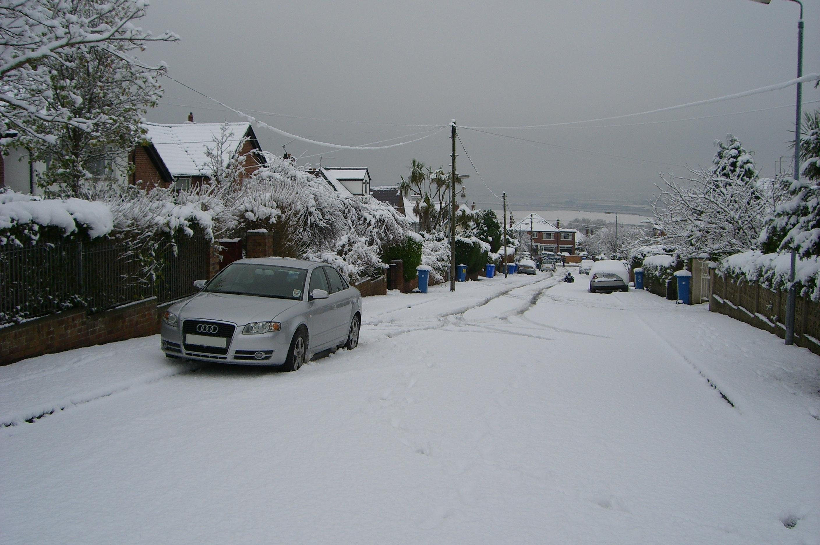 audi esp on or off in snow