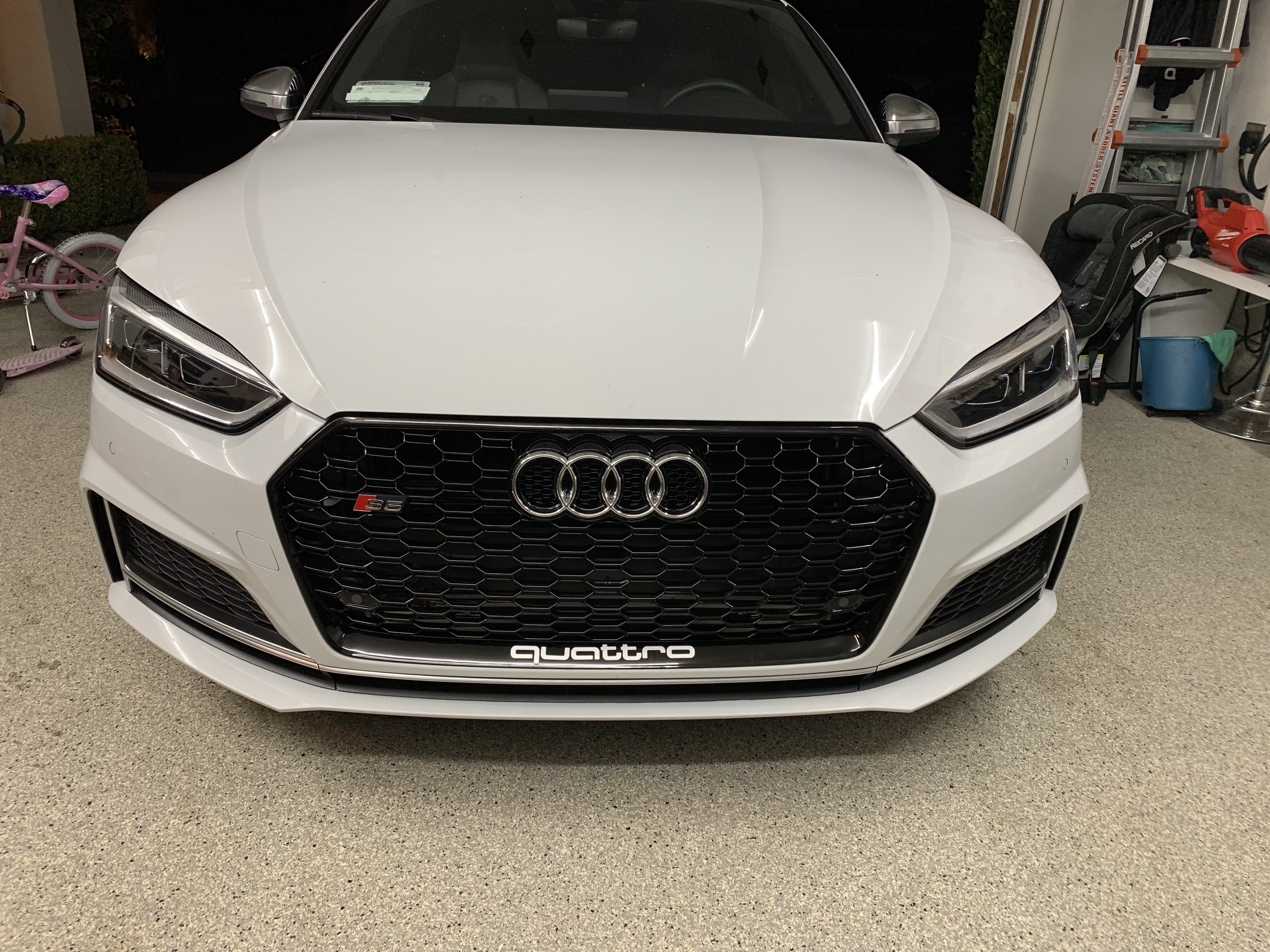 Rs5 B9 Grill On An S5 Is It An Easy Modification Audi A5 Forum Audi S5 Forum