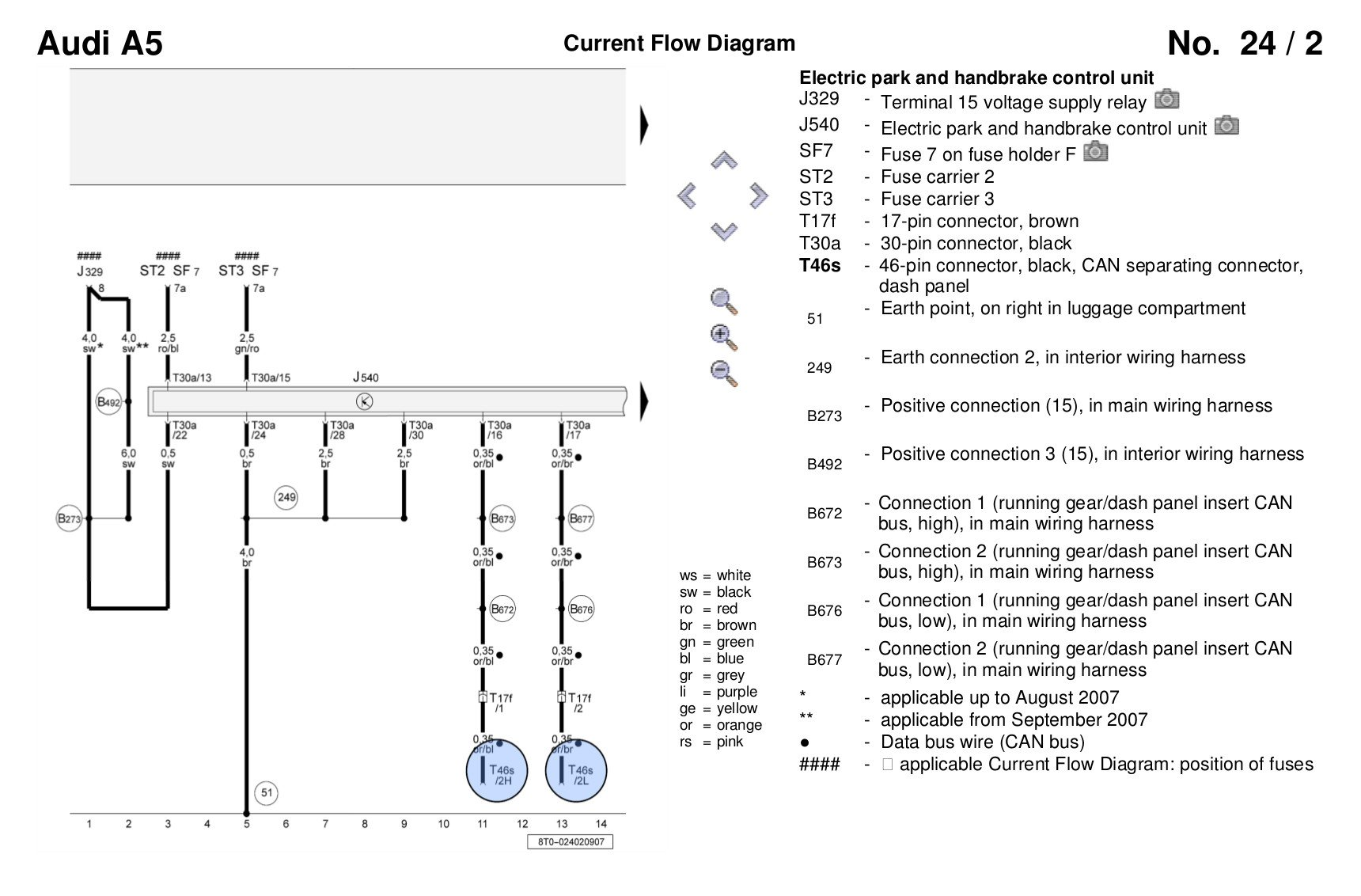 Audi A5 Wiring Diagram Free For You A3 Diagrams Electrical Auto A4 1996