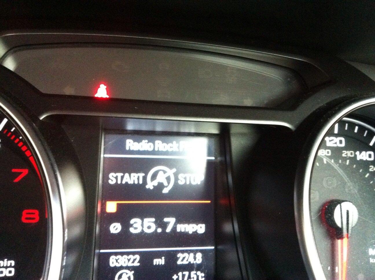 Stop Start Fault? | Audi A5 Forum & Audi S5 Forum