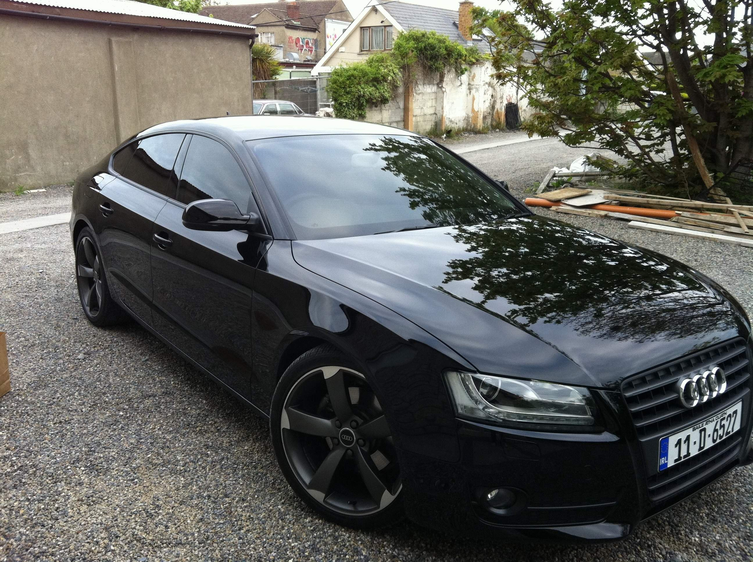 Black A Sportback With Pics Audi A Forum Audi S Forum - Black audi a5