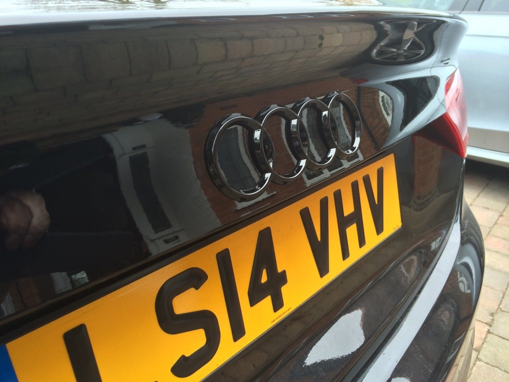 Sportback - removal of rear 'rings' badge | Audi A5 Forum
