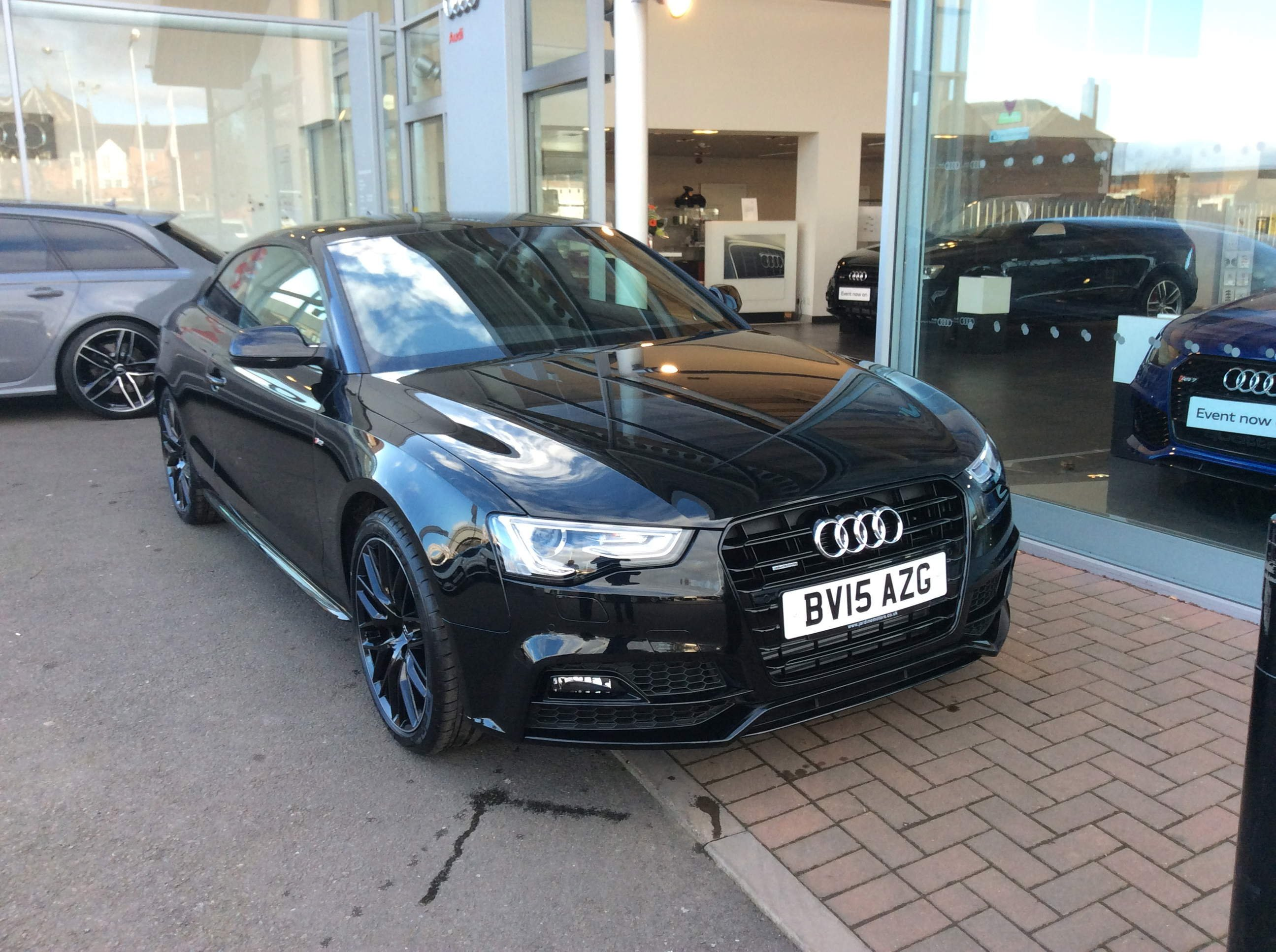 My New Black Black Edition Plus Audi A5 Forum Audi S5 Forum