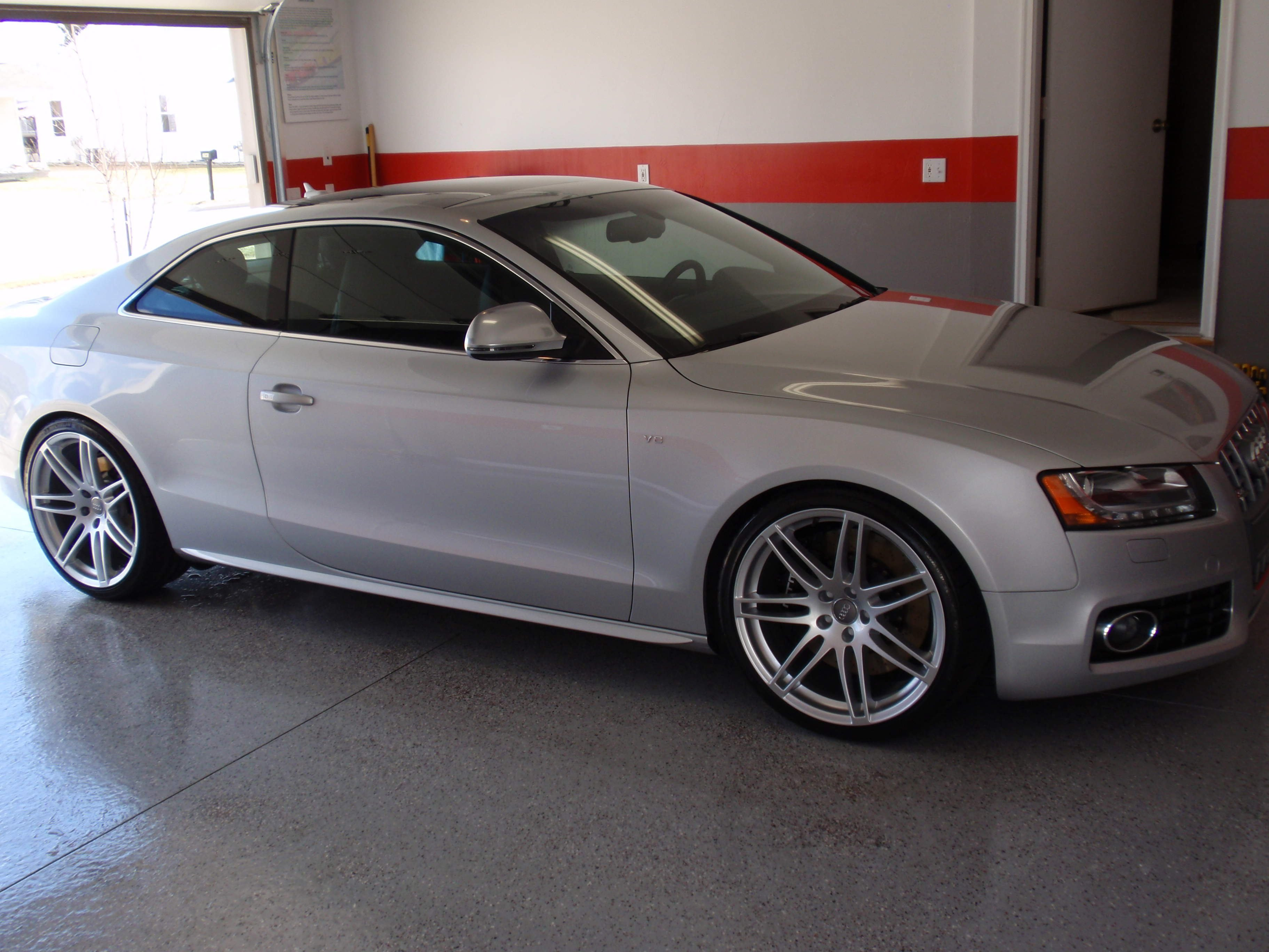 Pics Of Stasis S5 With 20 Oem Rs4 Wheels And 15mm H R Spacers Audi A5 Forum Audi S5 Forum