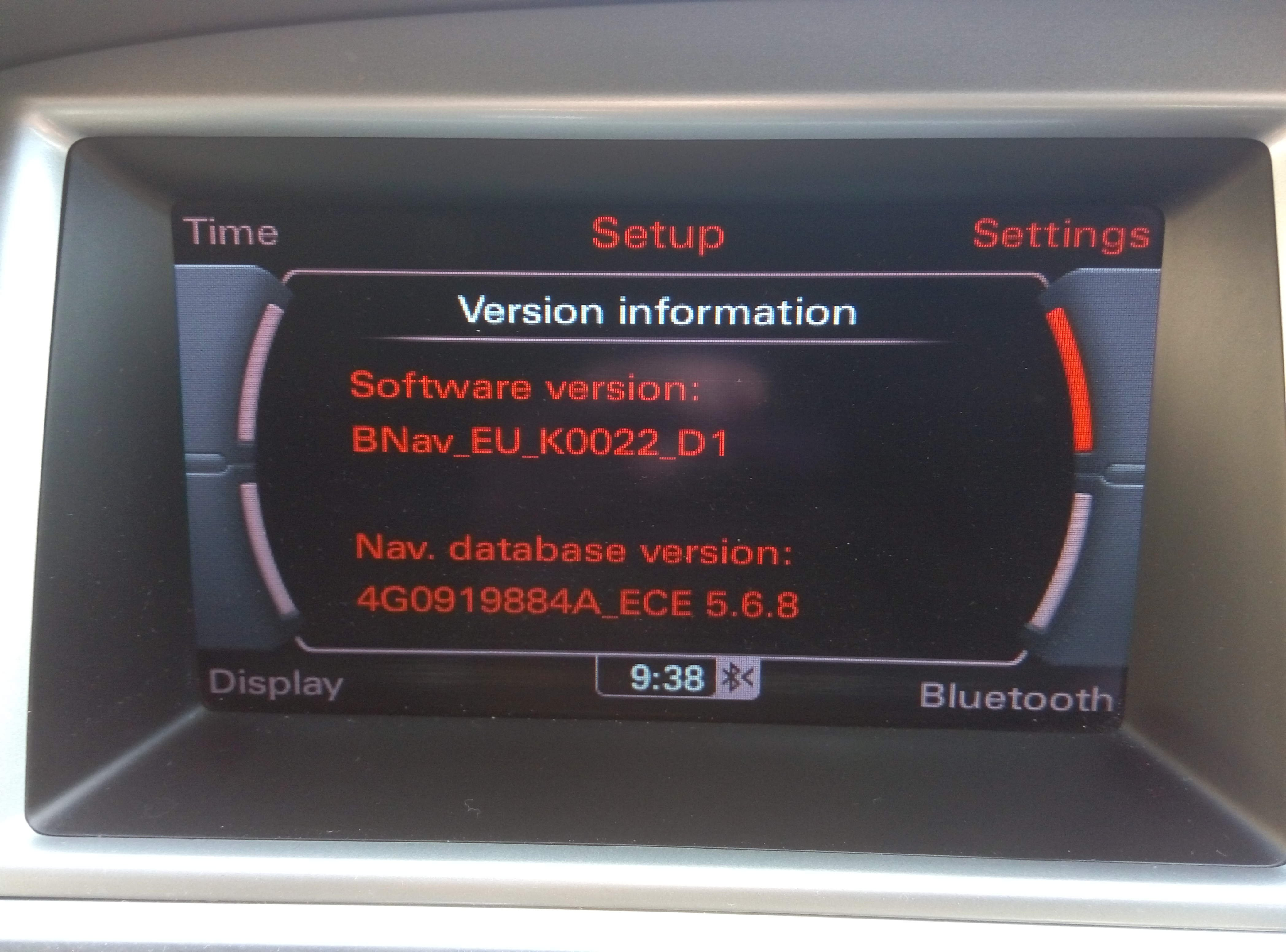 Mmi 3g Basic Navigation 5 31 2 And Firmware Updates Currently 2020 2021 Audi A5 Forum Audi S5 Forum