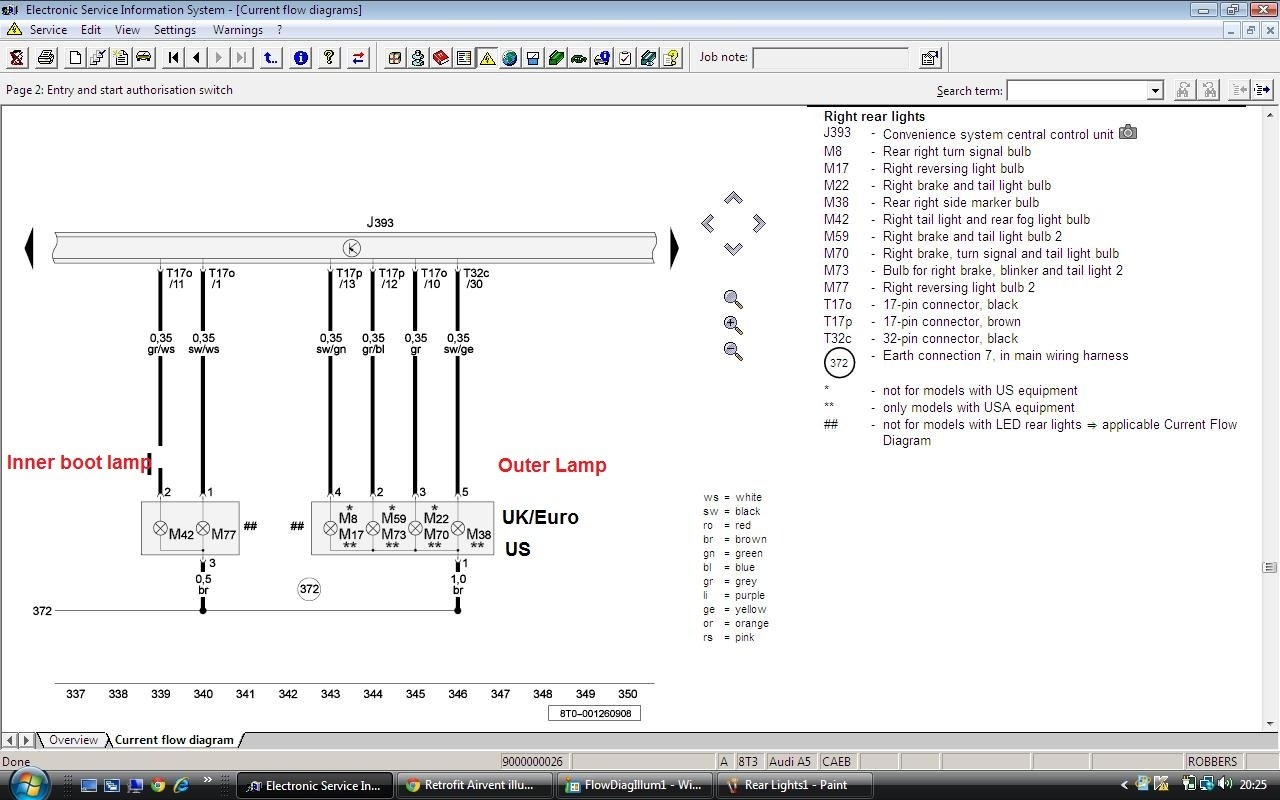 Led Taillight Coding Now Possible For 2008s Audi A5 Forum 2010 Wiring Diagram Click Image Larger Version Name Rearlights2b Views 1520 Size 2150