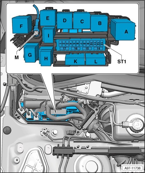 Control Circuit for Starter Relay 2 P3049 Car won't start! | Audi A5 Forum  & Audi S5 Forum | Audi A5 Starter Wiring Diagram |  | A5OC