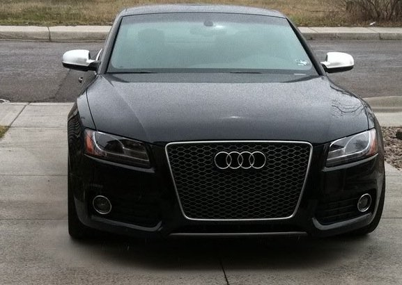 Rs5 Grille Gun Metal Or Black On Black S5 Audi A5 Forum