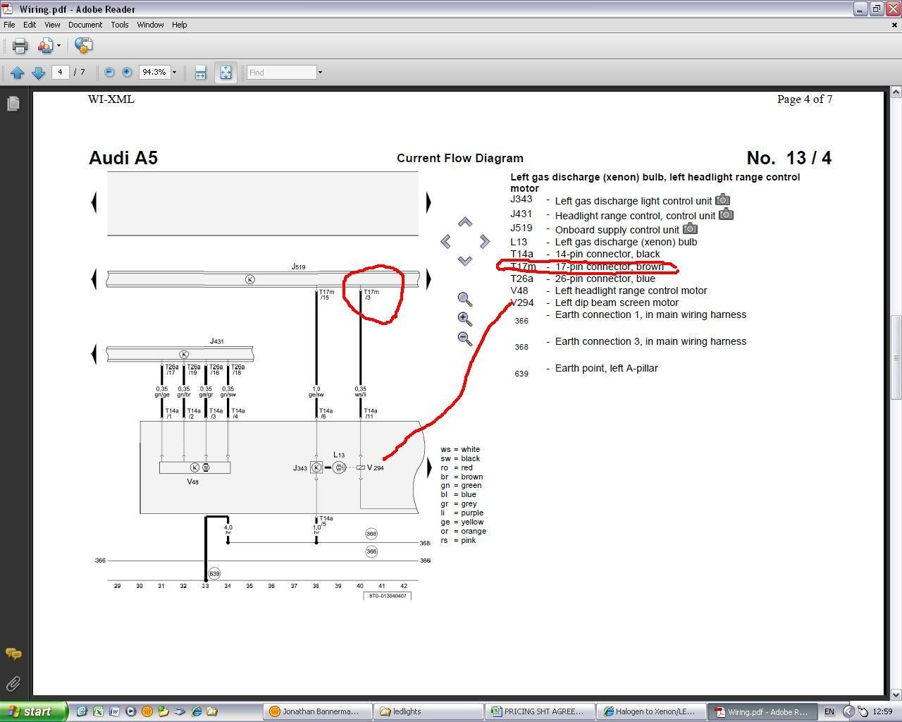Halogen to Xenon/LED Conversion   Audi A5 Forum & Audi S5 Forum on