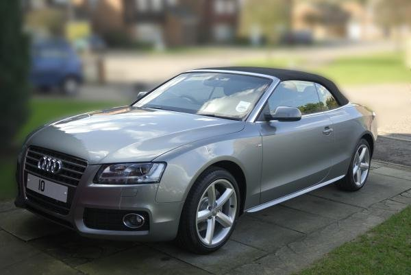Showcase cover image for Audi A5 Cabriolet