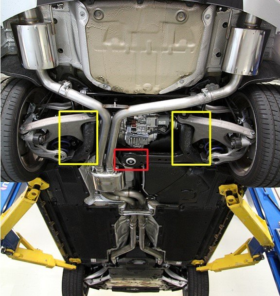 Central Rear Floor Jack Point What Do You Think Audi A5 Forum