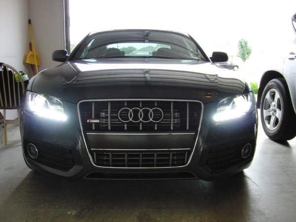 Adjust brightness of DRL LED when Headlights ON! | Audi A5 Forum