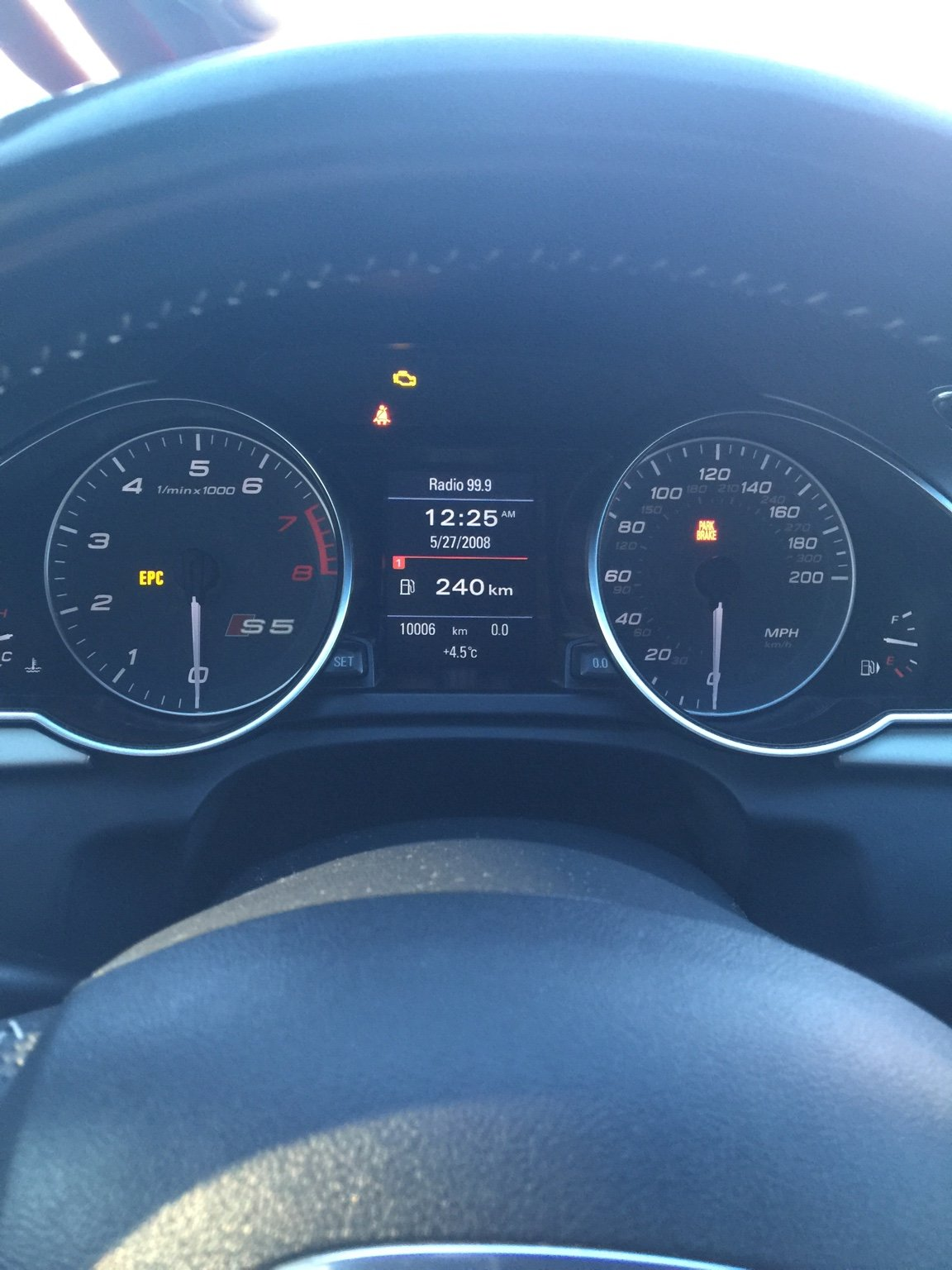 Installed S5 cluster in my A5 S-Line   Audi A5 Forum & Audi S5 Forum