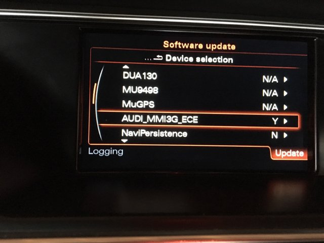 MMI 3G+/3GP navigation 6 24 2 and firmware updates - currently 2017