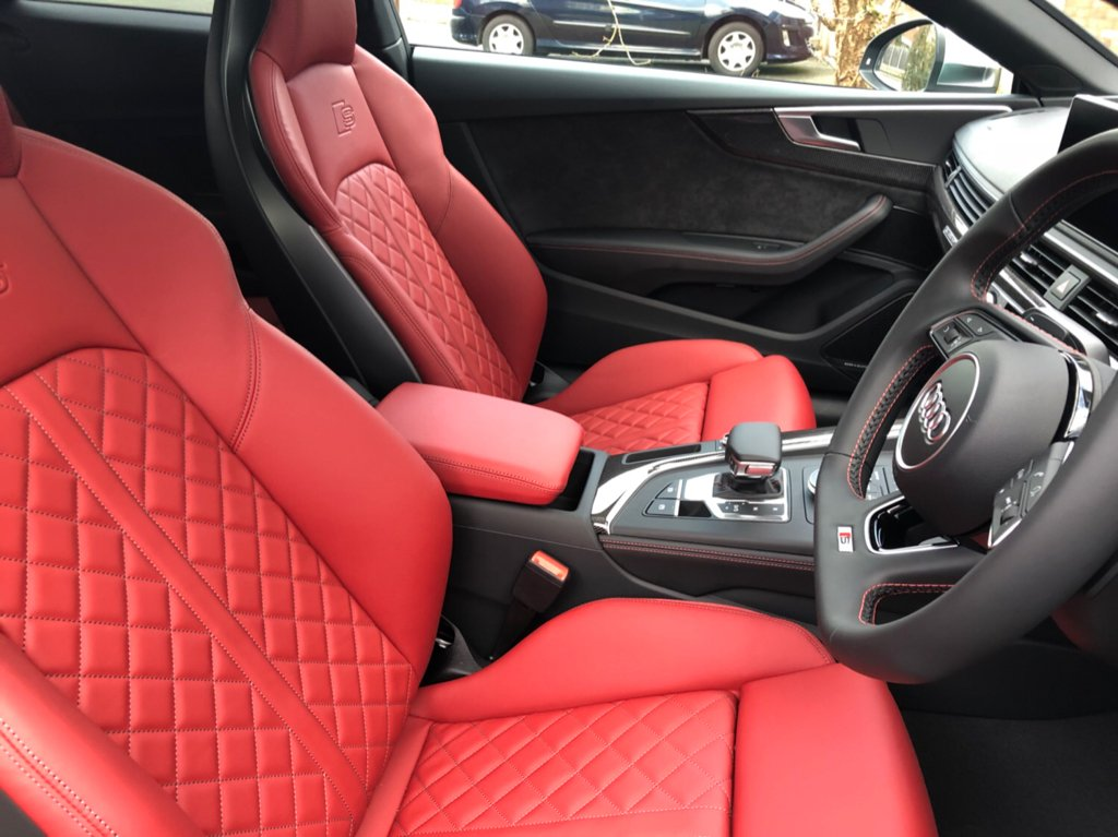 B9 S5 - Anybody have Magma Red leather? | Audi A5 Forum