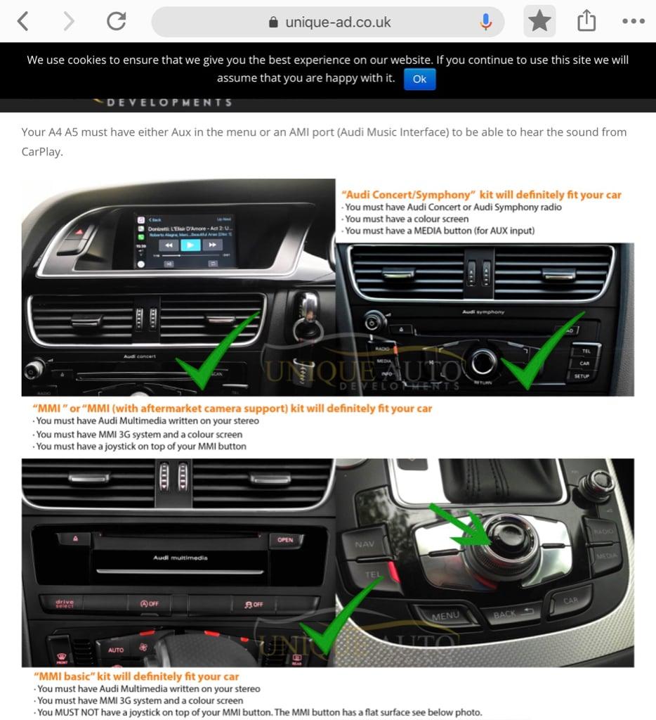 Hybrid Retrofit of Apple Carplay in 2009-2015 cars   Page 18