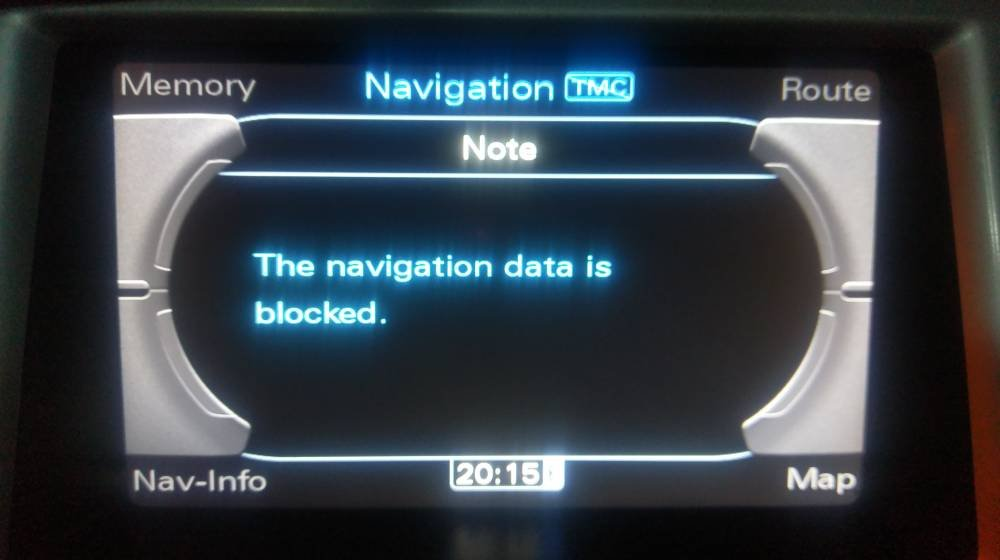 MMI 3G navigation 6 28 2 Europe - currently 2019 | Audi A5