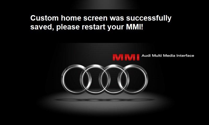 Audi Green Menu Mods